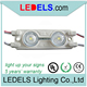 CE ROHS approved,UL listed,160 degree wide angle,12v 0.48w dc12v factory price smd 2835 3 led module with lens