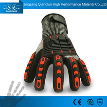 Plastic Protection Cut And Impact Resistant Gloves