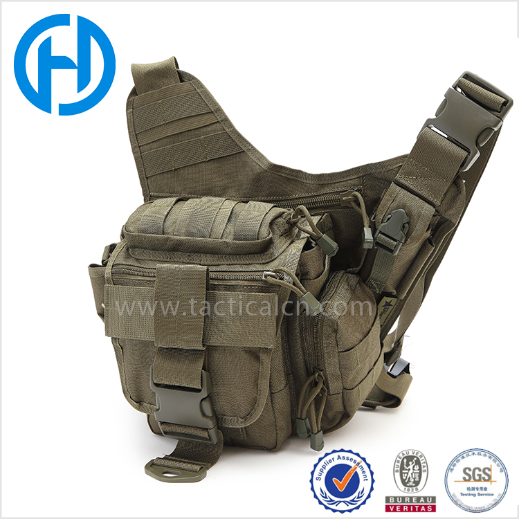 Outdoor Sports Shoulder Combat Gear Utility Military Tactical Waist Pack Bag