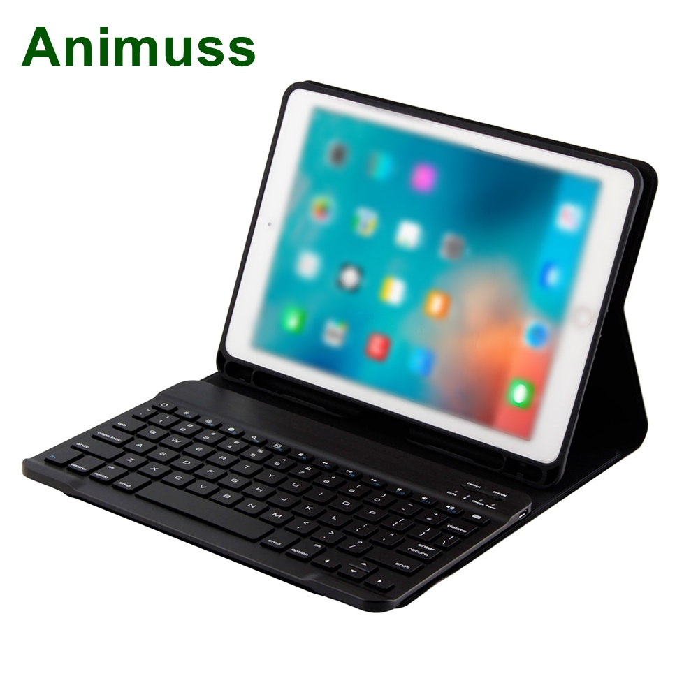 Anti Slip US Layout Magnetic Smart Tablet Keyboard Portfolio For <strong>iPad</strong> 9.7 10.5 12.9