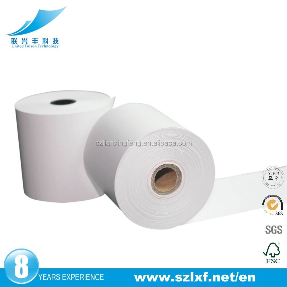Thermal paper roll for cash register receipt free samples