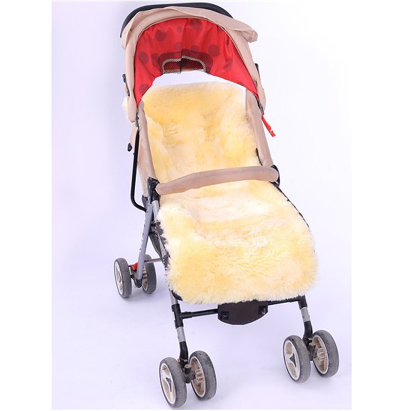 Footmuff For Stroller Genuine Medical Sheepskin Baby