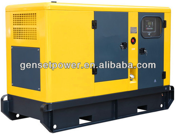 50Hz Silent Engine 150kva Electric Motor Genertor With Cummins Engine