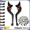 LS-001-RT/LT Hot Sale CNC Aluminum Folding and Extendable Motorcycle Brake Clutch Lever for T-Max 500/530