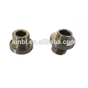 Precision stainless steel tube fitting connector cnc machined turning parts