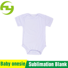 Sublimation Printing Wholesale Customized Oem Baby Product Clothes Infant Plain Bamboo Onesie