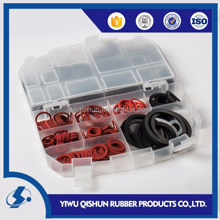 383pc hardware assortment O ring valve rubber sealing washer