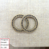 Wholesale mobile phone accessories Circular lace circle pendant