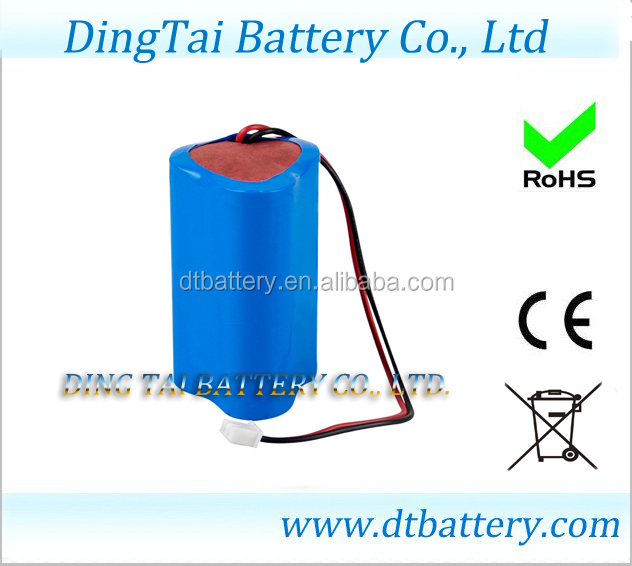 cleaning robot battery 18650 11.1v 2600mah lithium ion battery 3s1p