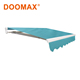 #DX200 CE certified French Metal Glass Door Awnings
