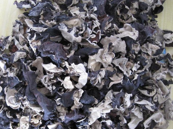 Detan Dried White Back Agaric Black Fungus Mushroom Packaging