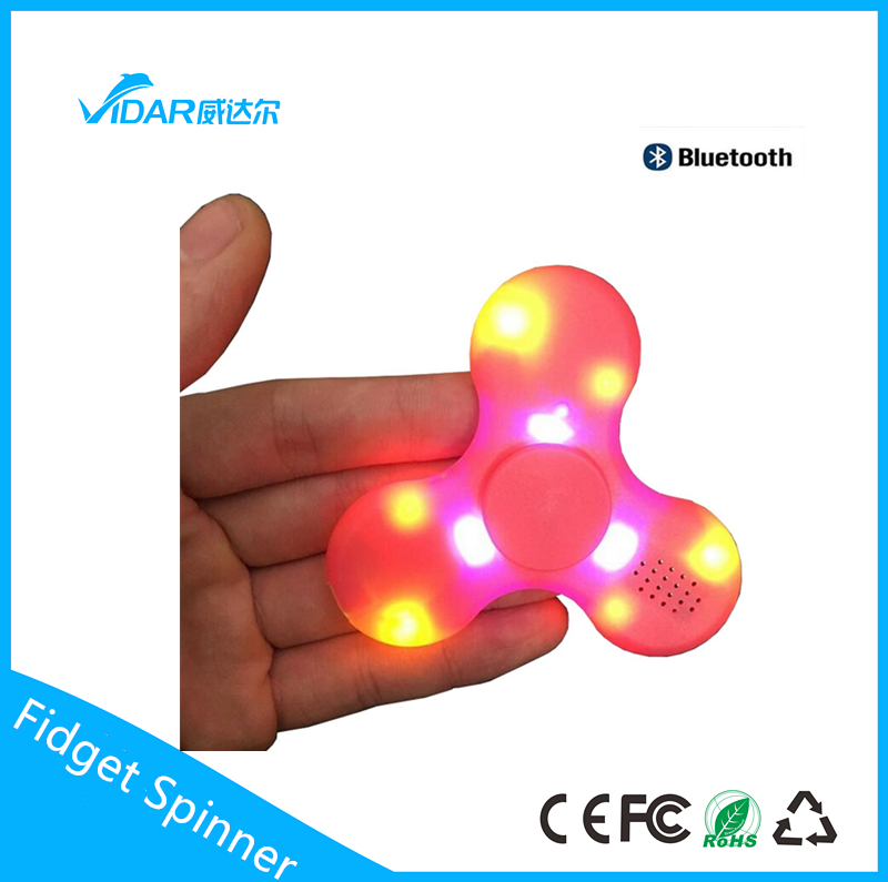 Brand new light up fidget spinner with CE certificate