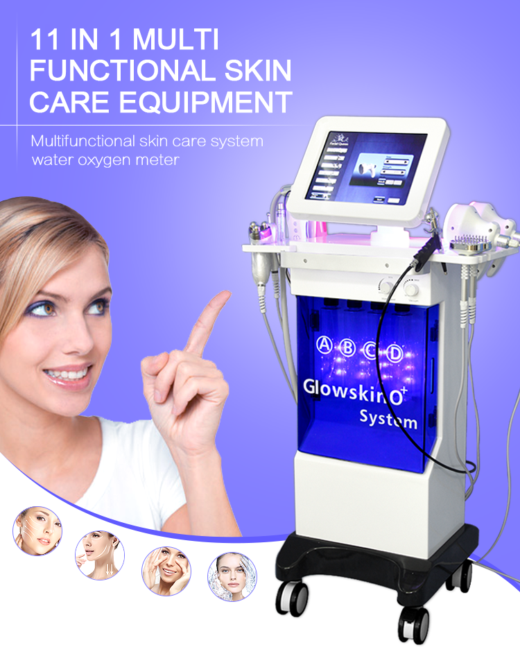 New product hydra skin care facial beauty equipment/hydra dermabrasion facial beauty equipo/ultrasonic skin scrubber deep clean