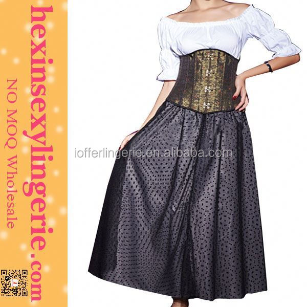 New arrival top fashion plus size long corsets