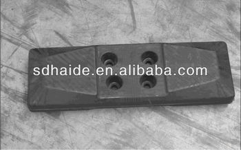 Bolt On Excavator Rubber Track Pad Track Belt For Doosan