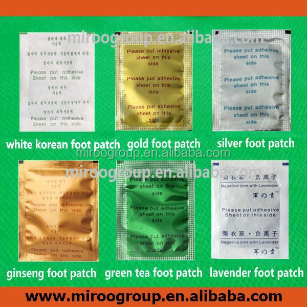 New Golden Korea Medical Detox Foot Patch & Adhesive Sheet