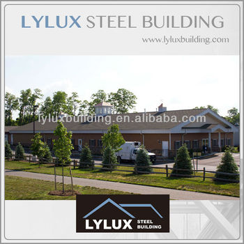 Steel Structure Green Building Portal Frame Prefabricated Cheap Office
