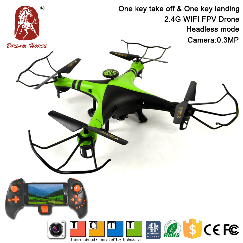 Smart phone control camera 720P 4 channel live drone professional for aerial photography
