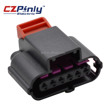 High Quality 6 Pin Accelerator Pedal Plug Auto Connector For 06-08 on