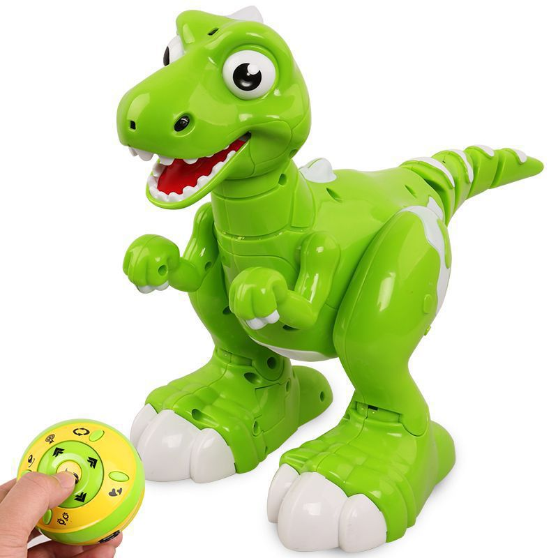 Music Bo Toys Remote Control Interactive Dinosaur Mist breathing out Dancing
