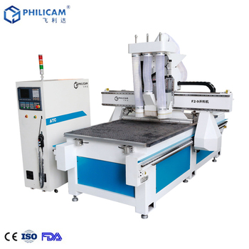 Jinan Philicam 1325 china cheap new woodworking cnc machine table