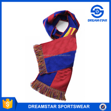 Wholesale Polar Fleece Knitting Football Sports Scarf