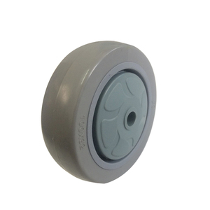 High Quality Low Price 4 inch Grey PU Wheel with Bearing