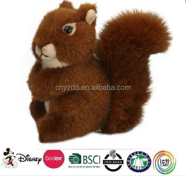 plush squirrel toy/promotion stuffed soft plush toy squirrels