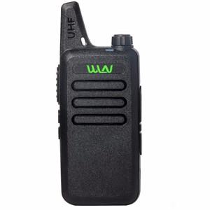 Wholesale- Wln Kd-C1 Pocket Size Two Way Radio Ultra-Thin Pkt-03 Uhf Cb Radio 5W Long Range Walkie Talkie Radio
