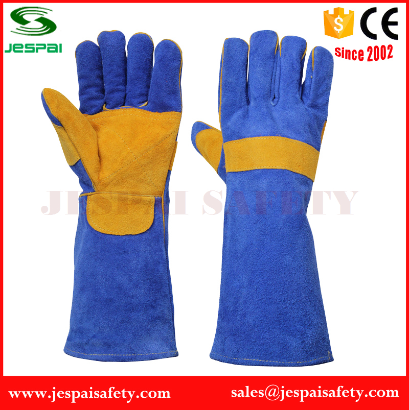 hand jobs work gloves welding long gloves with full lining