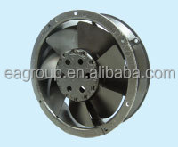 Taiwan UL CE TUV ROHS Certified IP55 Triple Speed Industrial AC Motor External Cooling Fan AC Metal Impeller in 172x51mm