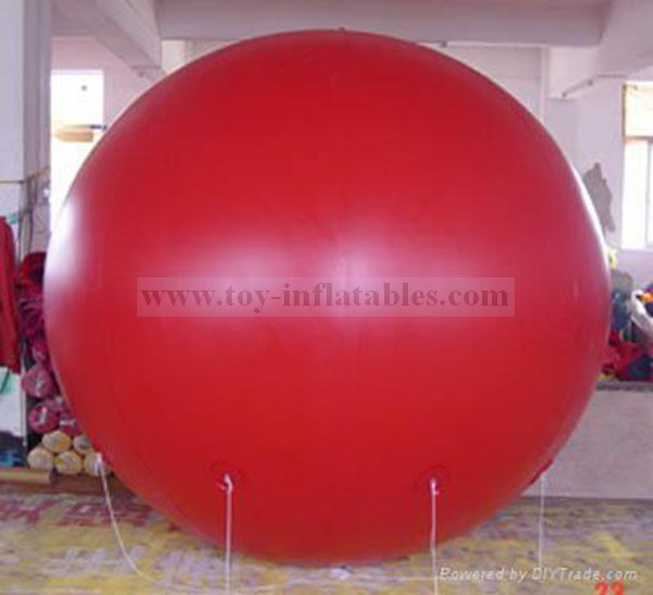 Branded cheap inflatable illuminated helium balloons