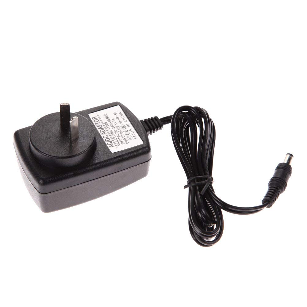 ERTIANANG 1pc AC 100-240V Converter Adapter 12V 2A 2000mA Charger AU Plug Power Supply for Travel International DC 5.5 x 2.5mm
