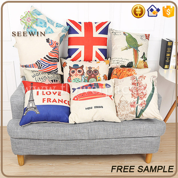 Home decoration items beautiful textiles burlap pillow for Beautiful home decor items