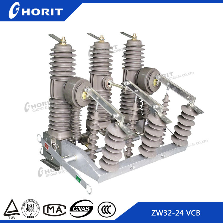 CE ISO9001 Manufacturer Outdoor Pole Mounted 1250A 24KV VCB