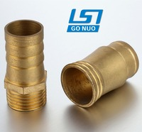 China manufacturer brass male thread barb garden fittings hose adapter