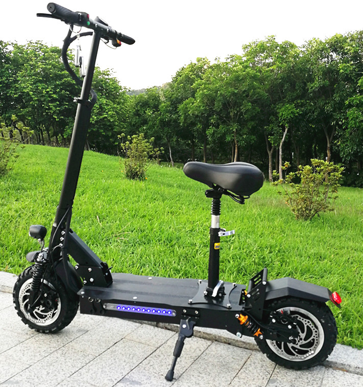 Adult Big Wheel Folding 2 wheel balance electric scooter with double seat