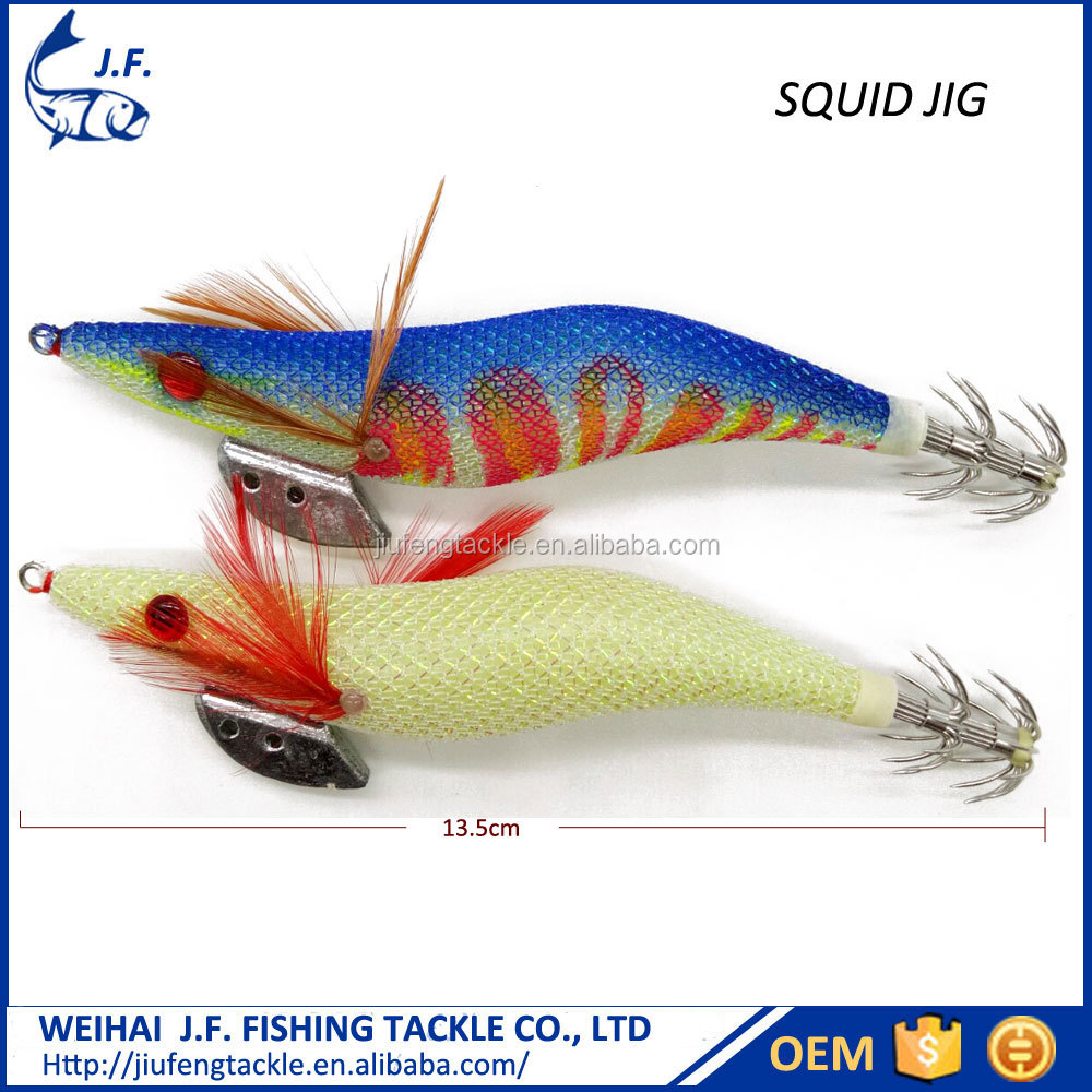 Wholesale high quality <strong>fishing</strong> lure artifical squid jig hook