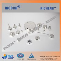 Power Pull Force Premanent Customized Pot magnet/Magnet base round with/without hook or rubber coating