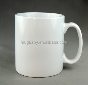 Ceramic Sublimation Plain White Coffee Mug