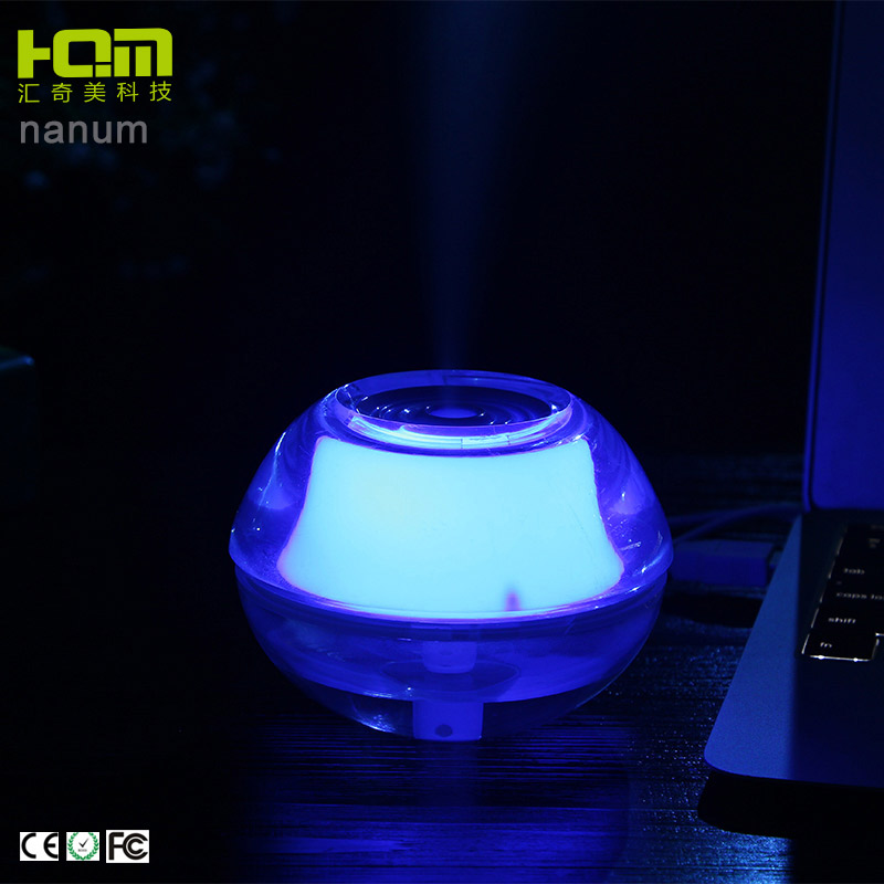 Ultrasonic Humidifier Acrylic Material Innovative Marketing Gift Items Promotion