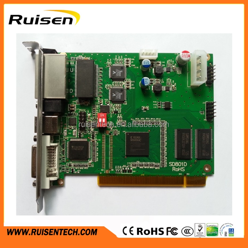 Original Linsn TS802D Sender Card for LED Display Synchronous Sending Card for LED Screen