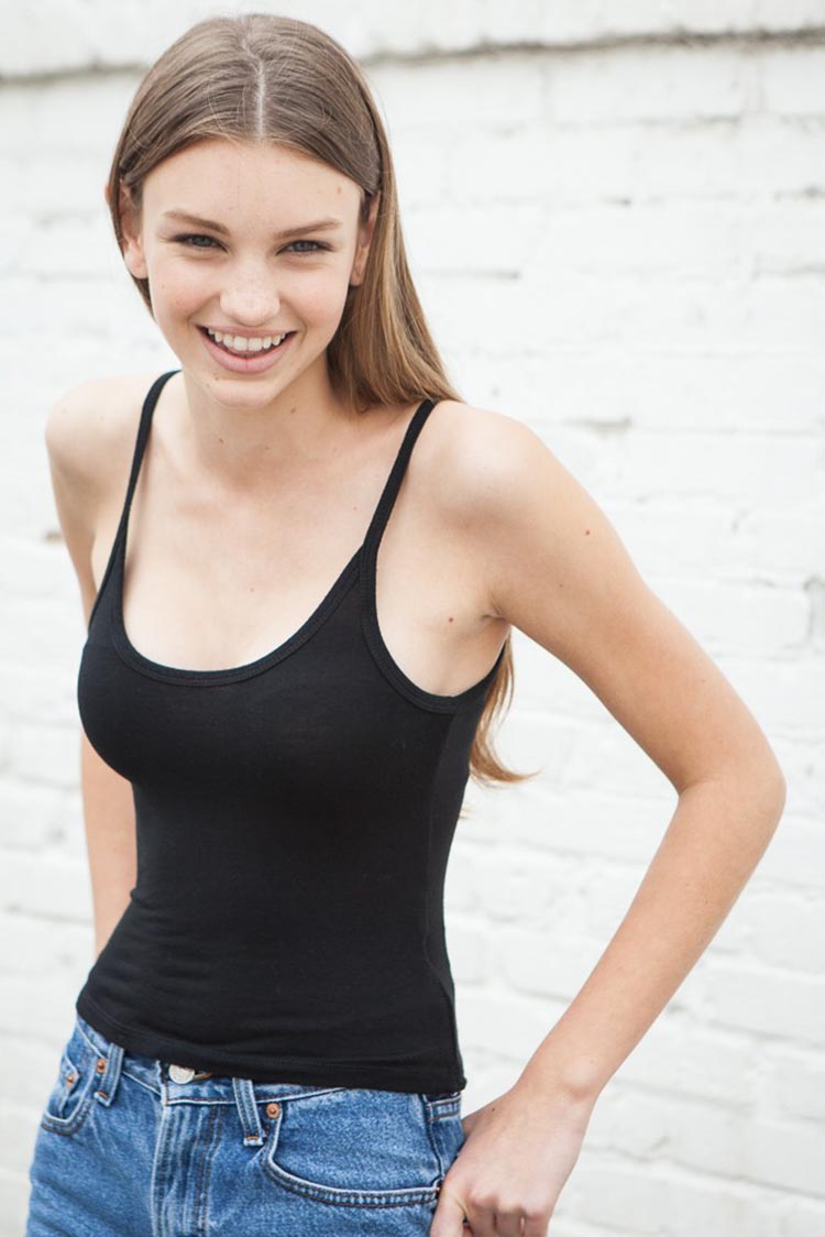 Teen clit tank top are