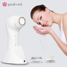 As seen on TV makeup tools Korea silicone facial cleansing brush,mini silicone face washing massage