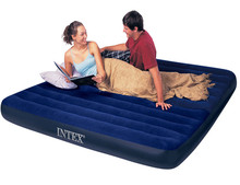 INTEX 68757 Double Desain Air Bed Inflatable <span class=keywords><strong>Kasur</strong></span> Udara dengan Built-In Pompa