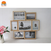 Simple Orange Wall Mutli Collage Frames Wooden Bulk Picture Photo Frame