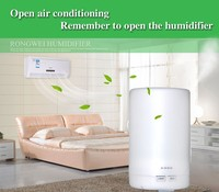 Wholesale Hotel lobby mini functional air purifier aromatherapy aroma oil diffuser with 7 color led light