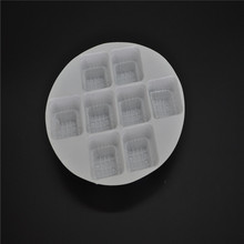 plastic packagingcake custom blister/pp plastic trays for chocolate boxes/box tray