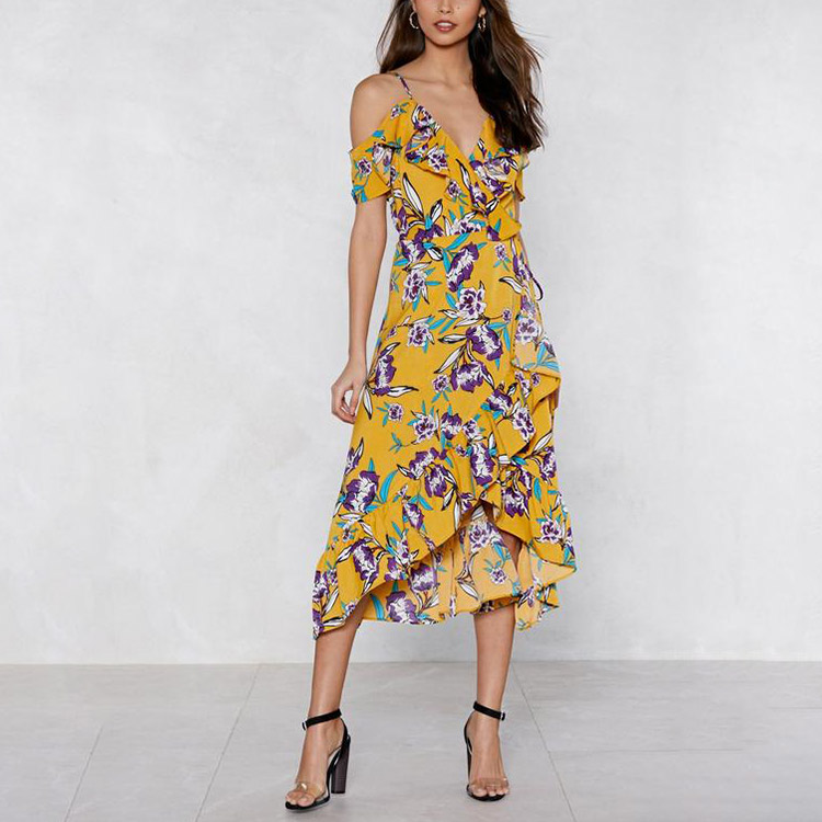 Factory direct supply fashion trends summer dresses ,long summer dresses,women summer dress