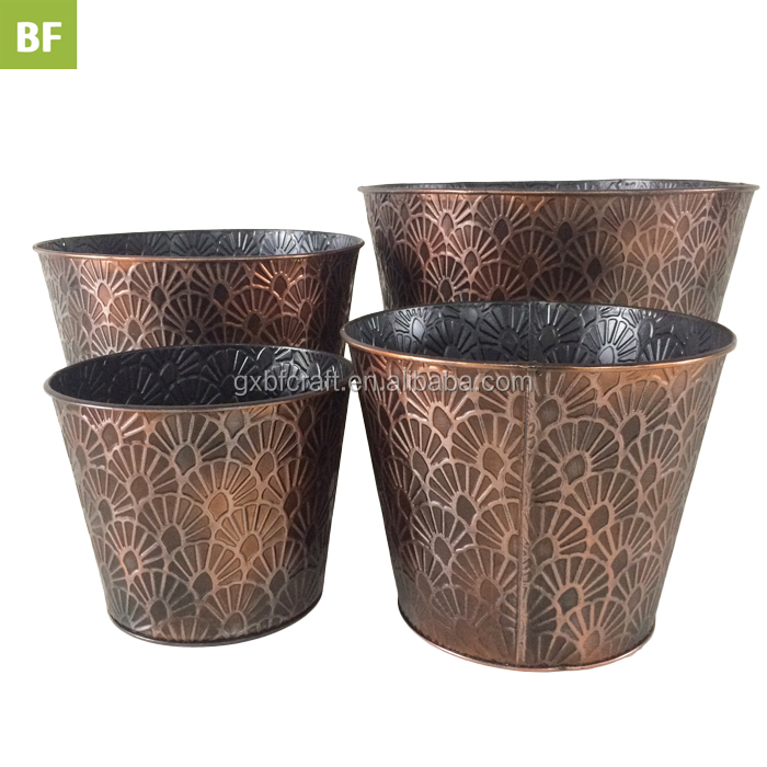 China Galvanised Vases China Galvanised Vases Manufacturers And